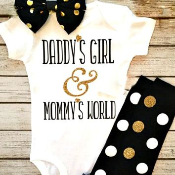 Daddy's Girl Onesuit Set