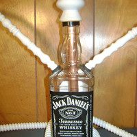 2 Hose Hillbilly Hookah Recycled Jack Daniels Bottle