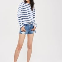 Romantic Tab Stripe T-Shirt - Home Or Away - We Love