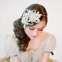 Glimmering rhinestone headband Style 132 Made to by myrakim