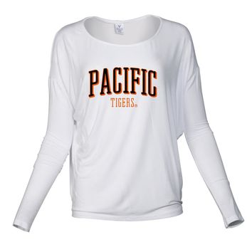 Official NCAA University of the Pacific Tigers - RYLPAC07 Women's Loose Pico Top