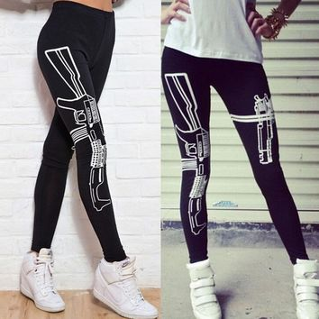 Yoga Pants for Women Elasticity  High Waist Cropped Legging