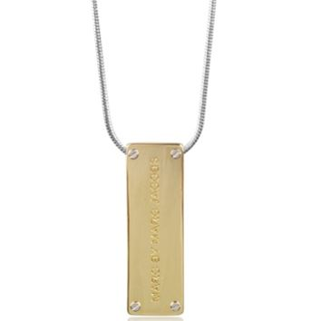 Marc by Marc Jacobs Designer Necklaces ID Pendant Women's Long Necklace
