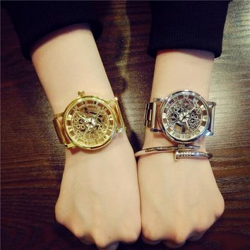 Jis Luxury Skeleton Women's Watch