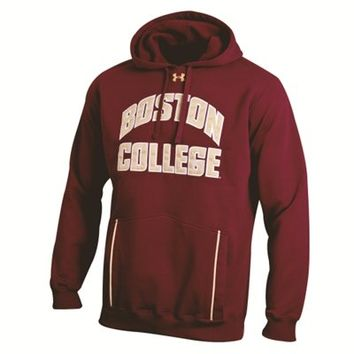 Under Armour Boston College Eagles Cardinal 2012 Football Sideline Storm Hooded Sweatshirt