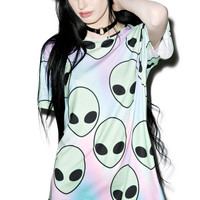 Sugarpills Alien T-Shirt Multi