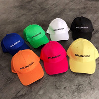 Balenciaga Women Men Cap