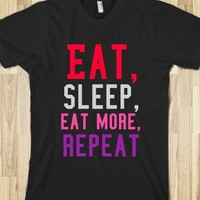 Eat, sleep, eat some more, repeat - Dani's Boutique