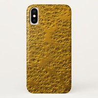 Damaged gold metal Case-Mate iPhone case