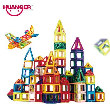Huanger 32 Piece Mini Magnetic Designer Building Blocks