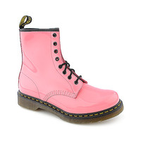 Dr. Martens Womens 1460 pink 8 eye combat boot | Shiekh Shoes