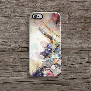 Abstract watercolour iPhone 6 case, iPhone 6 Plus case S750