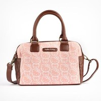 Hello Kitty Satchel: Chestnut Pink