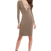 Criss Cross Pencil Dress