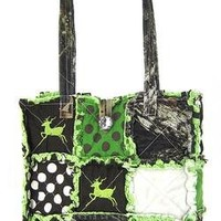 Patchwork Camo Purse Camouflage Deer, Owl or Peace -Choose- Tote Bag, Messenger, Sling, Backpack or Wallet
