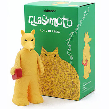 Quasimoto x Kid Robot | Quasimoto Figure (Yellow) | Stones Throw Records