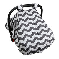 ReperKid™ Infant Car Seat Cover - Fits All Baby Car-Seats - Breathable Fabric, 100% Safe And Hygienic - Conveniently Compact Design - Machine Washable!