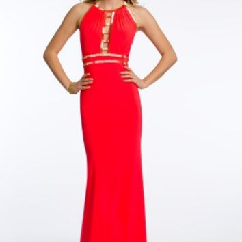 Beaded Ladder Front Dress