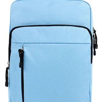 Baby Blue Fashion School Backpack
