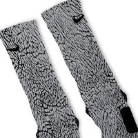Elephant Custom Nike Elite Socks