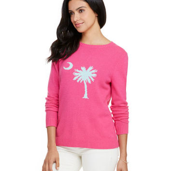 Palmetto Intarsia Sweater