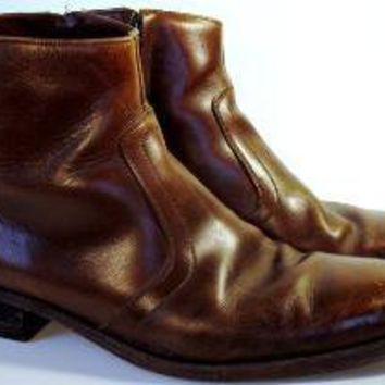 Vintage 1960s Leather Beatle's Boots Florsheim by foxandfawns