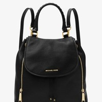 Viv Large Leather Backpack | Michael Kors