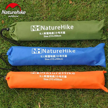 Naturehike Awning Outdoor Camping Beach mat Foldable sunscreen Canopy picnic blanket waterproof Pad Tent mat