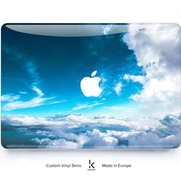 MACBOOK DECAL SALE Macbook Skin Macbook Pro Skin Macbook Air Skin Macbook Cover Macbook Decal Macbook Sticker Laptop Skin Winter Clouds