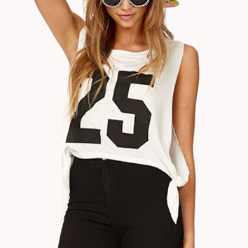 Varsity Knotted Muscle Tee