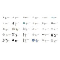 Earring Set - 30pk - Silver Ox