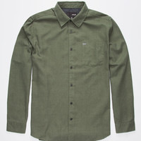 Hurley One & Only 2.0 Mens Shirt Green  In Sizes