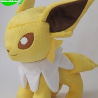 Anime Pokemon Eeveelutions Jolteon Plush Doll 12 Inches