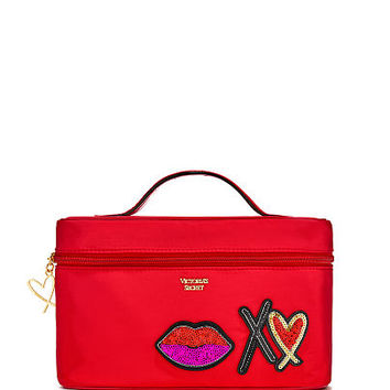 Runway Patch Weekender Train Case - Victoria's Secret