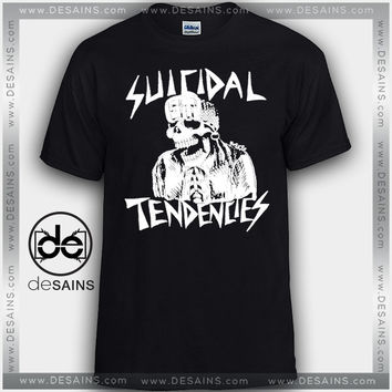 Cheap Graphic Tee Shirts Suicidal Tendencies Band Tshirt on Sale