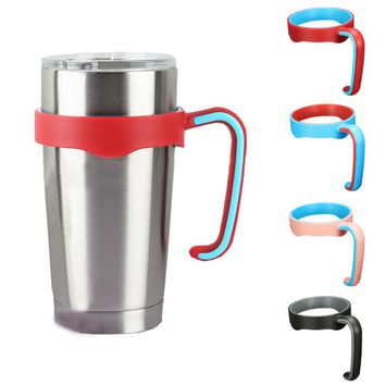 ZELU Universal Standard Multicolor Cup Holder For 20oz Yeti Cup Stainless Steel Insulated Tumbler Mug Handle Drop