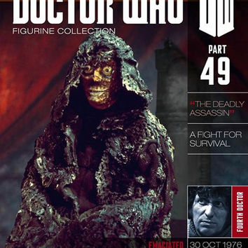 Doctor Who Figurine Collection Magazine #49 Emaciated Master