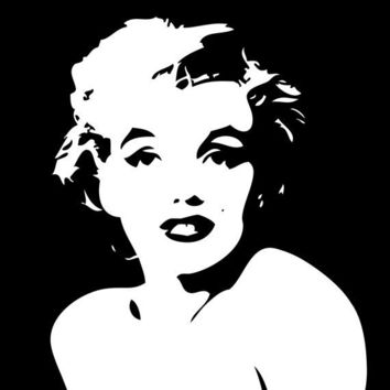 Marilyn Monroe Poster     - fits IKEA RIBBA frame 8x10