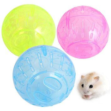 Hamster Ball Toy Rabbit Gerbil Rat Running Exercise Jogging