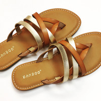 Stranded in Style Sandals
