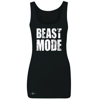 Zexpa Apparel™ Beast Mode On  Women's Tank Top Workout Fitness Bodybuild Sleeveless