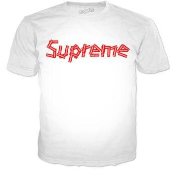 "Supreme ""Sticker Logo"" T-shirt"