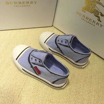 Burberry Girls Boys Children Baby Toddler Kids Child Fashion Casual Sneakers Sport Shoes