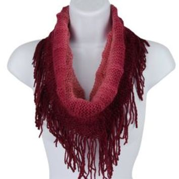 Fringe With Benefits Infinity Scarf