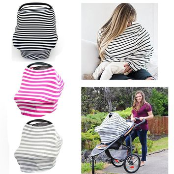 Multi-Use Cotton Baby Car Seat Cover 0927-34