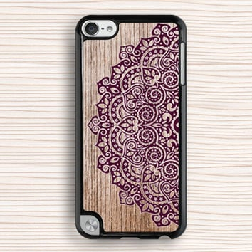 lace flower ipod case,best seller ipod 5 case,art flower ipod 4 case,wood grain floral ipod 5 touch case,mandala flower ipod touch 4 case,art flower touch 4 case,new design touch 5 case