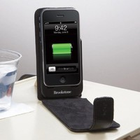 Leather Recharging Battery/Case for iPhone and iPod touch