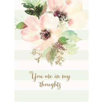 In My Thoughts Sympathy Card