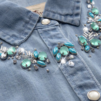 Venice Beach Shine Denim Shirt