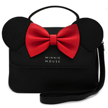 Disney Minnie Faux Leather Crossbody Purse